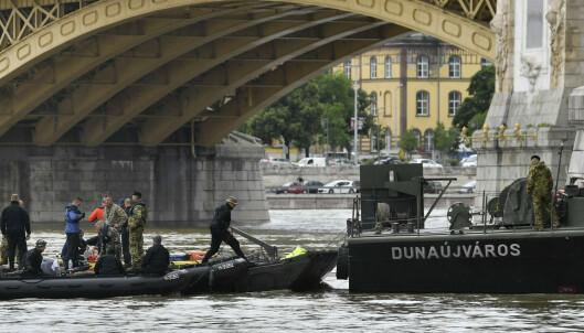 21 fortsatt savnet etter båt-kollisjon i Budapest