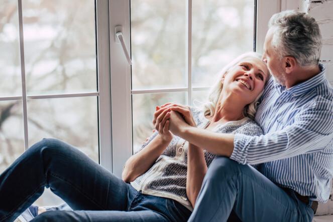 DE ELDRE SKILLER SEG: Mens de yngre holder sammen, fortsetter de eldre å skille seg. FOTO: NTB Scanpix