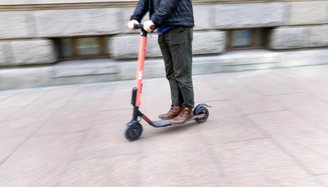 Sverige har opplevd sin første dødsulykke ved bruk av elsparkesykkel. Foto: Gorm Kallestad / NTB scanpix