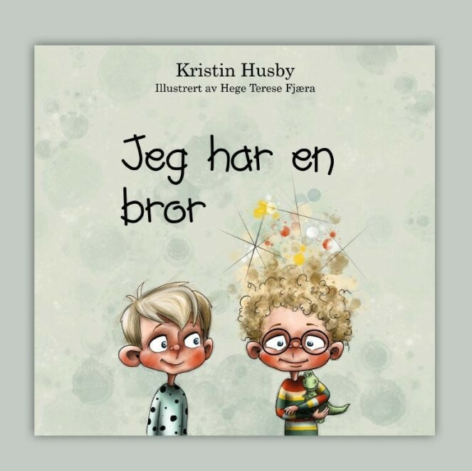 <strong>GUSTAV OG ESPEN:</strong> Fortellingen er illustrert av Hege Therese Fjæra og gitt ut via forlaget kolofon. Foto: Kolofon