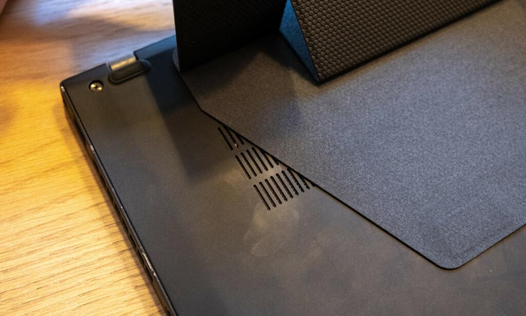 Festeplaten dekker delvis til CPU-viften. Foto: Martin Kynningsrud Størbu