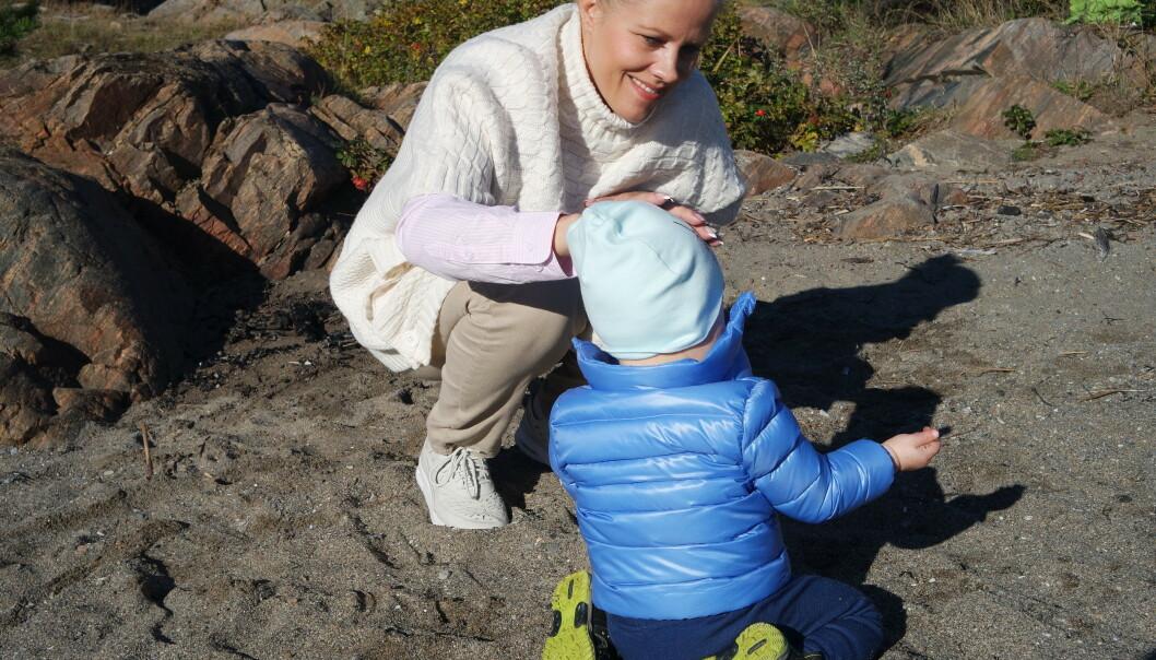 Linn er selvutnevnt tidsklemme-allergiker og elsker hverdagen med mer tid til familien. Foto: Privat.