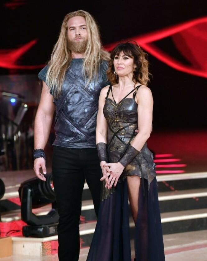 <strong>DANSEPARTNER:</strong> Her er nordmannen avbildet sammen med dansepartneren Sara Di Vaira. Foto: NTB scanpix Vis mer