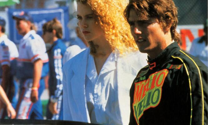 <strong>MØTTES PÅ JOBB:</strong> Nicole Kidman og Tom Cruise møttes under innspillingen av filmen «Days of Thunder» i 1990. De giftet seg i desember samme året. Foto: NTB scanpix