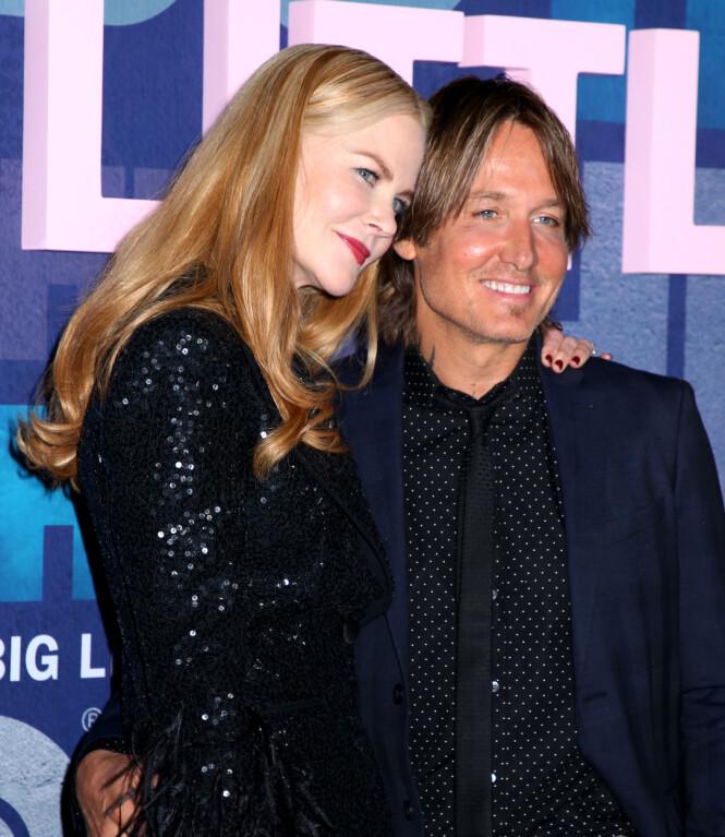 <strong>LYKKELIG GIFT:</strong> Nicole Kidman og Keith Urban giftet seg i 2006 og har døtrene Sunday Rose og Faith Margareth sammen. Foto: NTB scanpix