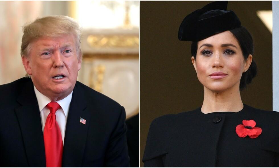NYTT INTERVJU: President Donald Trump skal i neste uke på offisielt statsbesøk til dronning Elizabeth og Storbritannia. I den anledning har han latt seg intervjue av den britiske tabloidavisen The Sun. Foto: NTB scanpix