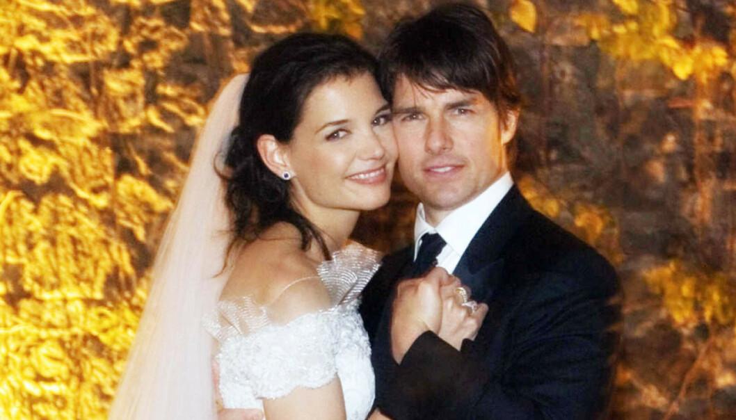 <strong>ITALIENSK BRYLLUP:</strong> Da skuespillerparet Tom Cruise og Katie Holmes giftet seg i et italiensk slott, var det mye som minnet om et eventyrbryllup. Dessverre endte ikke ekteskapet på eventyrlig vis. Foto: NTB Scanpix