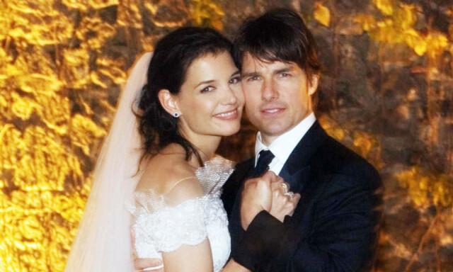 5007f4af ITALIENSK BRYLLUP: Da skuespillerparet Tom Cruise og Katie Holmes giftet  seg i et italiensk slott