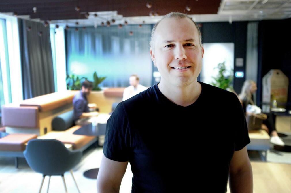 Azure- og AI-direktør Christopher Frenning i Microsoft Norge mener Microsoft igjen omfavner utviklerne. 📸: Ole Petter Baugerød Stokke