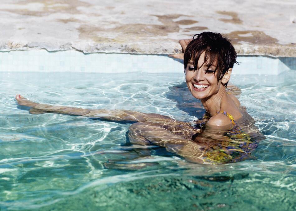 BADETØY: Her kan du velge mellom 24 forskjellige bikinier og badedrakter! Foto: Scanpix