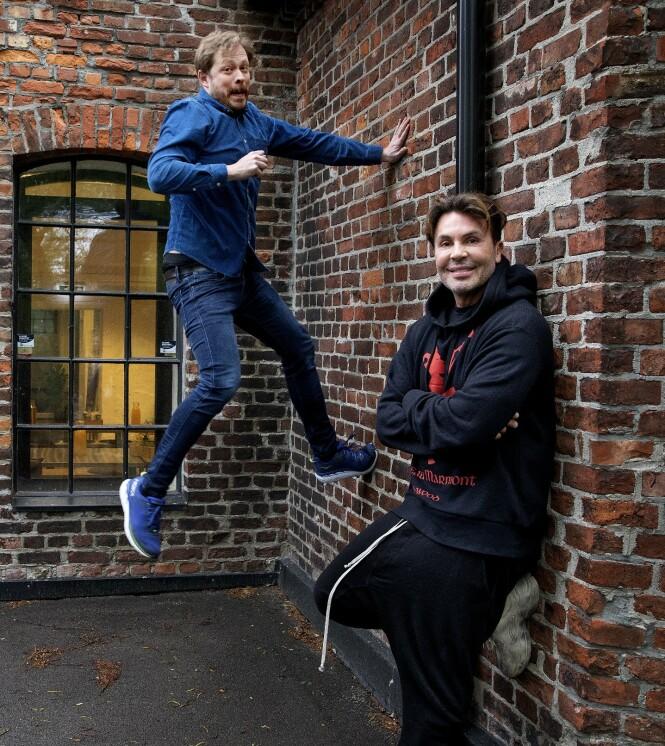 <strong>GUTTASTEMNING:</strong> Einar Tørnquist og Jan Thomas har et unikt og uventet vennskap. Det blir det god tv av, mener Discovery. Foto: Kristin Svorte