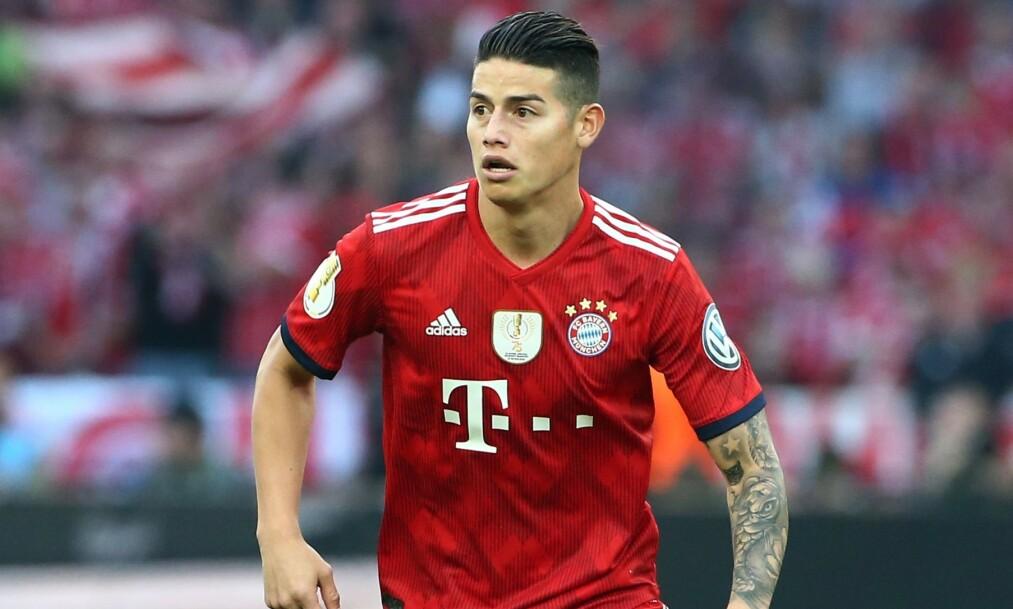 FORLATER BAYERN: James Rodriguez er ferdig i Bayern München etter to år på lån hos tyskerne. Foto: Pixathlon / REX / NTB Scanpix