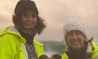 <strong>PLASTPIRATENE:</strong> Beate Amalie Kjerstad (t.v.) og Randi Kjærstad Hagerup kaller seg selv Plastpiratene. Foto: Privat