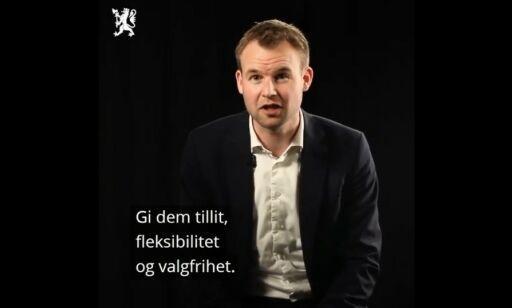 image: KrF-lederen invitert på homofestival etter denne videoen