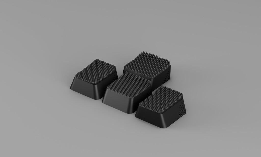 Ikeas spesialltilpassede WASD-taster i Uppkoppla-serien. Foto: Ikea