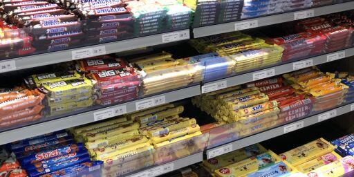 image: Fedme-epidemien: Vil ha slutt på sjokoladepapir