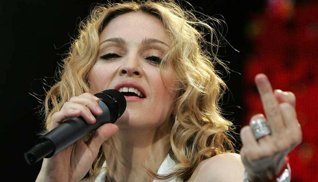 <strong>ÅPNER OPP:</strong> Mer en halvannet år er gått siden de første anklagene mot Harvey Weinstein rullet opp. Nå åpner også Madonna opp om Hollywood-mogulens oppførsel. Foto: NTB Scanpix