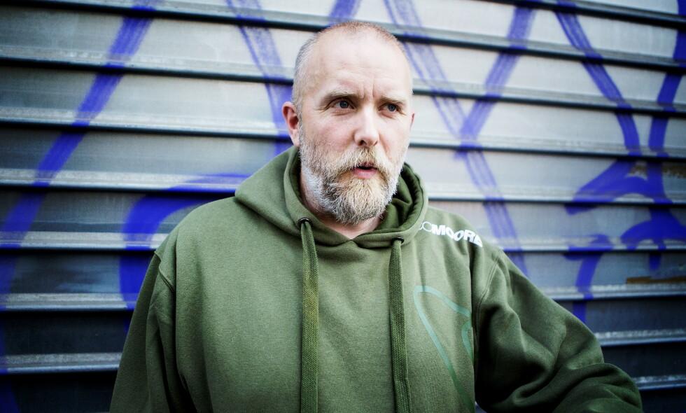 FJERNET: Varg Vikernes' YouTube-kanal er borte. Det skjer samme dag som YouTube annonserte at de ville fjerne innhold med «hatefull tale». Her fra Paris i 2014. Foto: Christian Roth Christensen / Dagbladet
