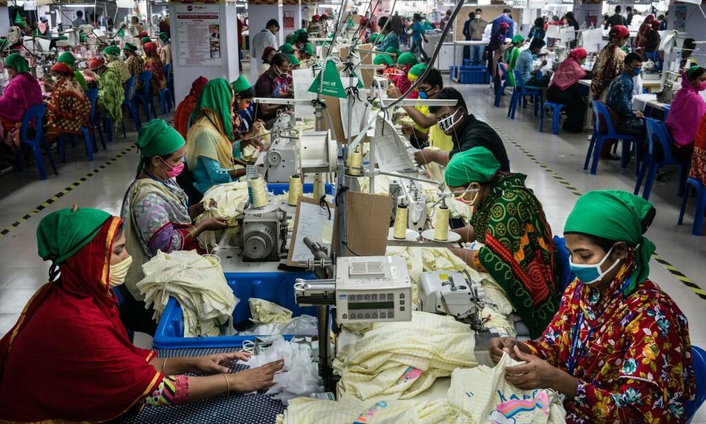 LEVELØNN: Nær samtlige av de spurte selskapene kan ikke bevise at de gir noen av tekstilarbeiderne levelønn. Foto: Clean Clothes Campaign