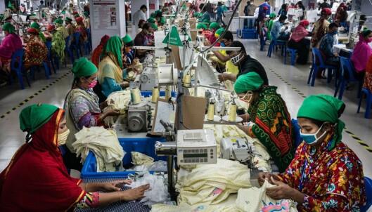 Ingen vil si hvor mye de betaler tekstilarbeiderne