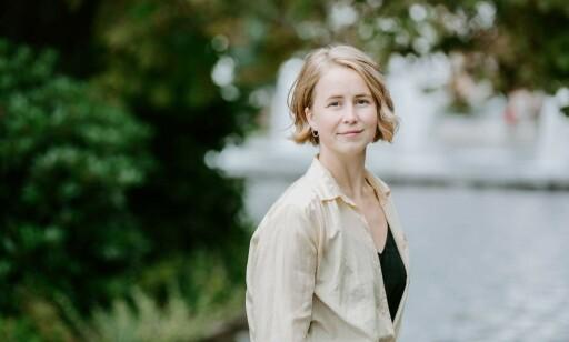 IKKE BEGEISTRET: Leder for Framtiden i våre hender, Anja Bakken Riise, synes det er uforståelig at ikke kleskjedene har sikret levelønn. Foto: FIVH