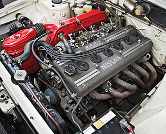 <strong>KJAPP:</strong> 0-100 på 9,8 sekunder var helt innafor i 1973. Foto: Nissan