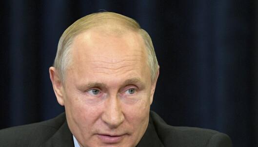 Putin: Galskap av Vesten å støtte Guaido