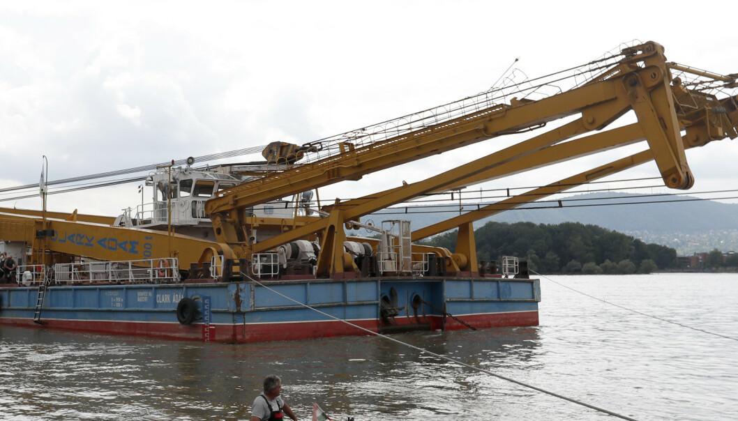 Ungarsk påtalemyndighet: Kaptein på ulykkesskip i Budapest er siktet i Nederland