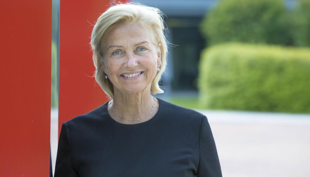 Idrettspresident Berit Kjøll har fått en tøff periode etter at hun ble valgt for snaut to uker siden. Foto: Ole Berg-Rusten / NTB scanpix