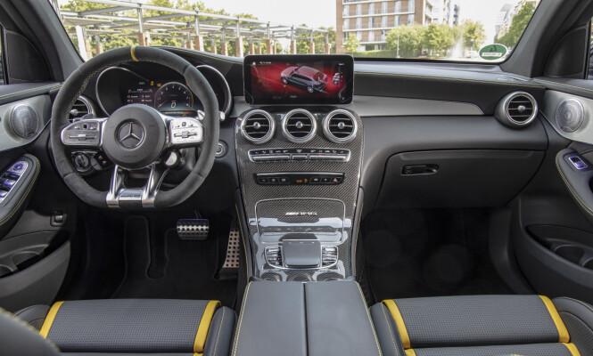 <strong>MER DIGITALT:</strong> Det er ingen revolusjonerende endringer i interiøret. Foto: Mercedes