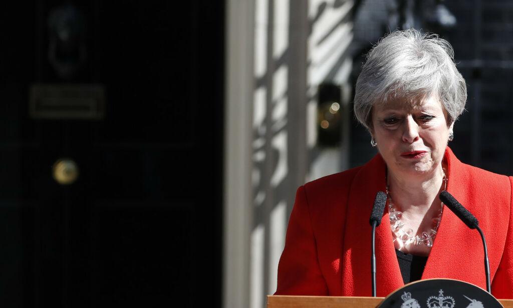 image: Theresa May har gått av som partileder