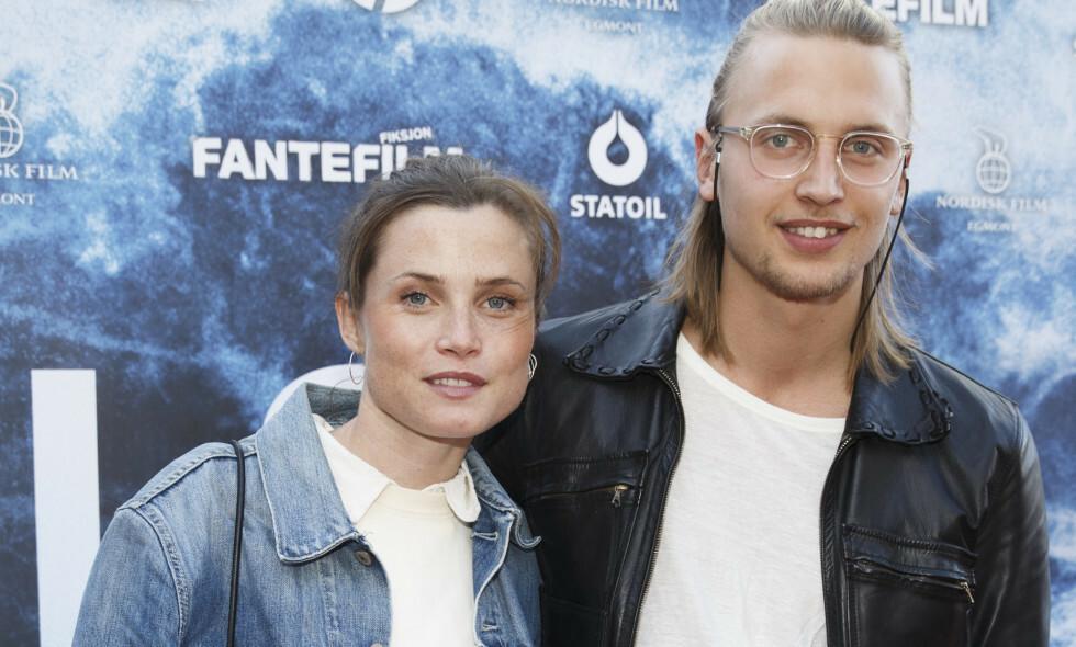 FORELDRE IGJEN: Skuespiller Gitte Witt og forloveden Filip Loebbert har fått barn enda en gang. Foto: NTB Scanpix
