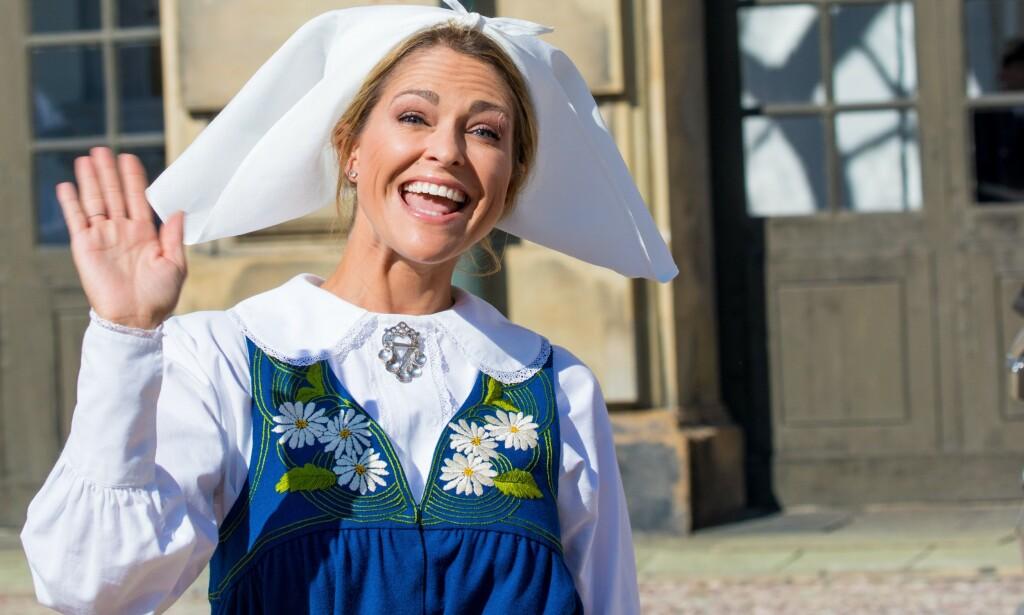 HURRA: Prinsesse Madeleine av Sverige fyller i dag 37 år. Feiringen kunne blitt heller stusslig i dag, men noen uforutsette nyheter gjorde brått alt bedre. Foto: NTB scanpix