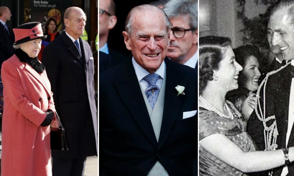 <strong>HEDRES:</strong> I forbindelse med prins Philips bursdag mandag 10. juni blir han gjort stas på i sosiale medier. Foto: NTB Scanpix