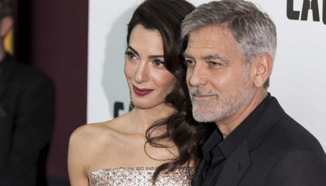 <strong>STJERNEPAR:</strong> Amal og George Clooney. Foto: Grant Pollard / INVISION