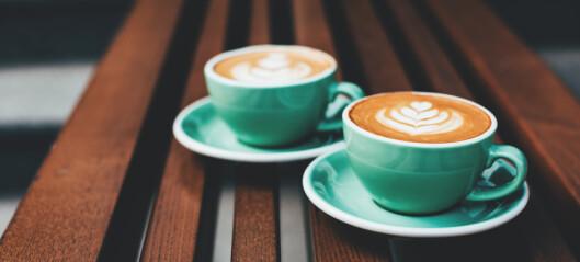 Ikke en gang 25 kaffekopper daglig vil skade helsen din