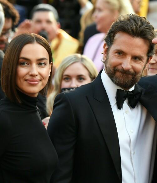 KJÆRLIGHETEN SOM BRAST: Irina og <b>Bradleys forhold skulle ikke vare. Flere skal ha det til at de har gått hver til sitt. Foto: NTB scanpix</b>