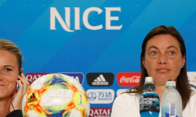 4ae64f42 Fotball-VM for kvinner: Børs fra Frankrike-Norge - Børsen: Hun var ...