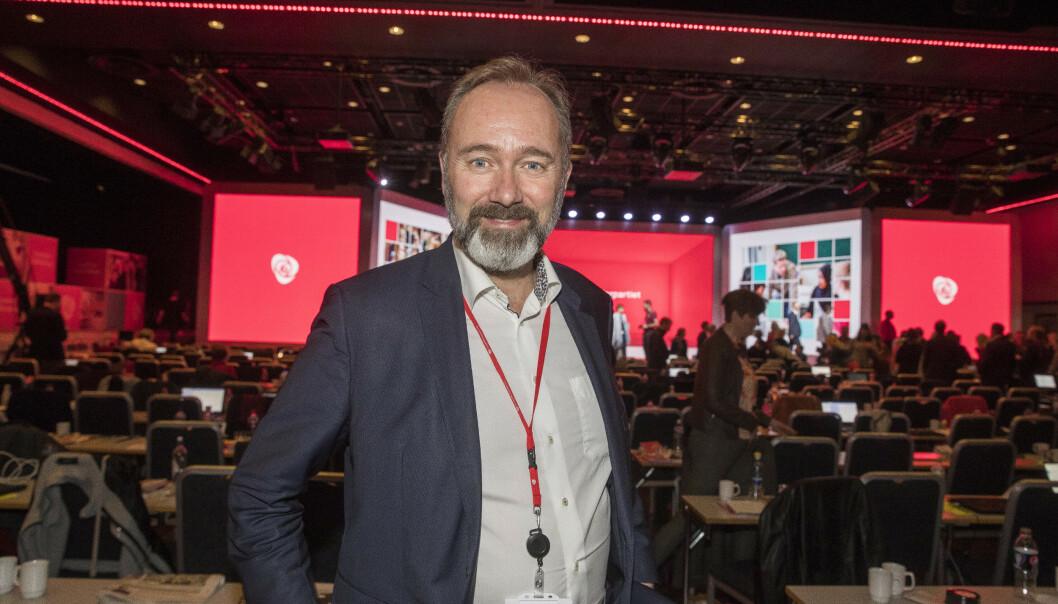 Trond Giske blir trolig valgt som styreleder i Arbeidernes Økonomiske Fellesorganisasjon (AØF) i Trondheim neste uke. Foto: Terje Pedersen / NTB scanpix
