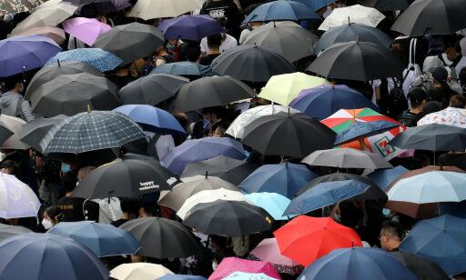 image: Protestene fortsetter - Hongkong utsetter lovforslag
