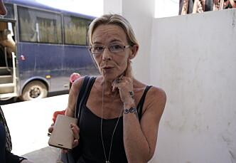 I MAROKKO: Spanske Guervos Gema bor i Marokko for å følge rettssaken mot sønnen Kevin Zeller og de 23 andre tiltalte i dobbeltdrapsaken. Hun mener sønnen er uskyldig og krever flere bevis fra påtalemyndighetene i Marokko. Foto: John T. Pedersen / Dagbladet