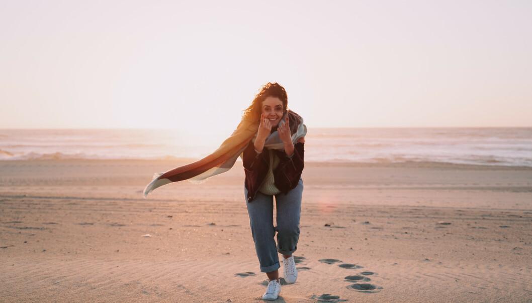 LYKKELIG: Ensom og enslig eller fri og lykkelig? Forskningen tyder på at single kvinner klarer seg meget godt. FOTO: NTB Scanpix