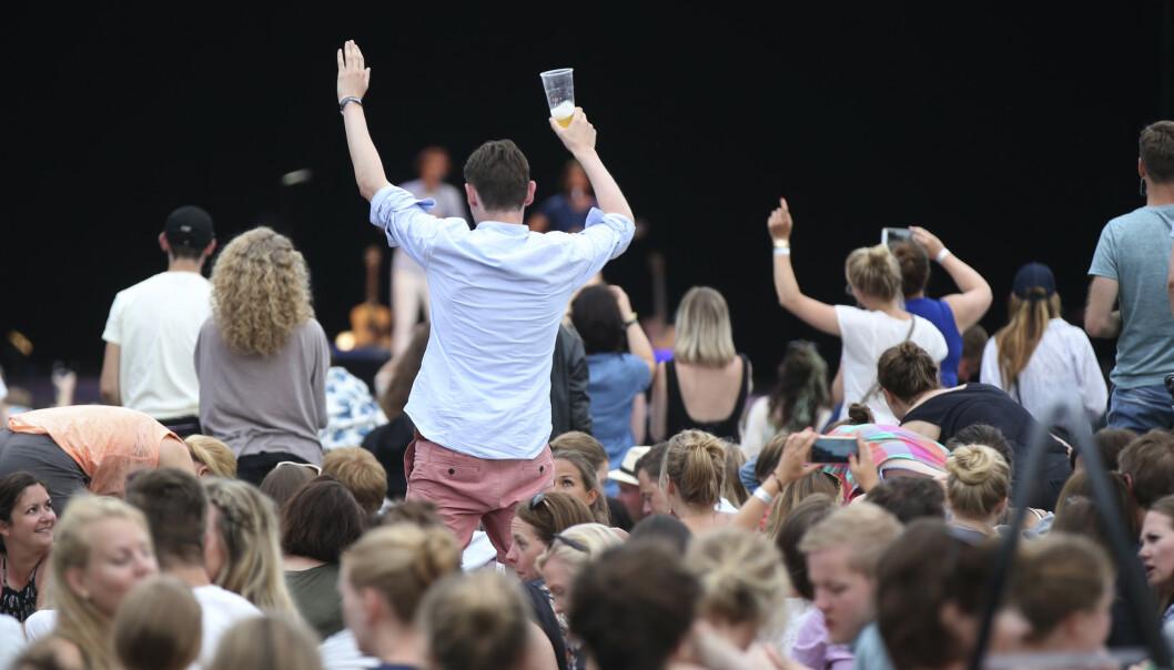 Piknik i Parken holdes i Oslo ifra torsdag til lørdag. Dette bildet er tatt under festivalen i 2016. Foto: Vidar Ruud / NTB scanpix