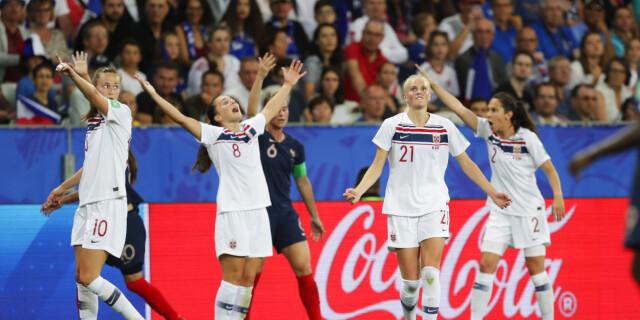 3481e708 Fotball-VM for kvinner 2019 - VAR-kaos da Norge tapte mot Frankrike ...
