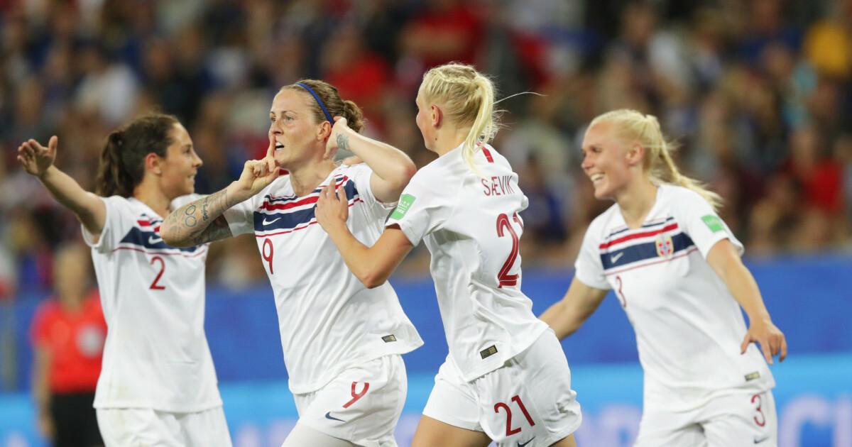8b93a257 Fotballjentene tapte for Frankrike - Endelig et norsk landslag som er best  MED ball - Dagbladet