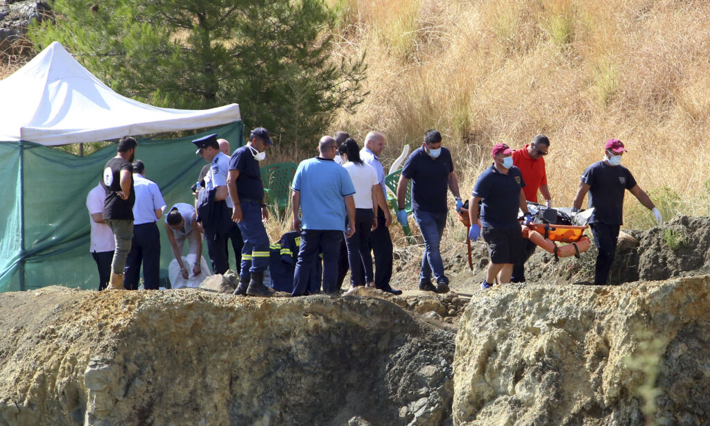 image: Sjuende lik funnet i drapssak som ryster Kypros