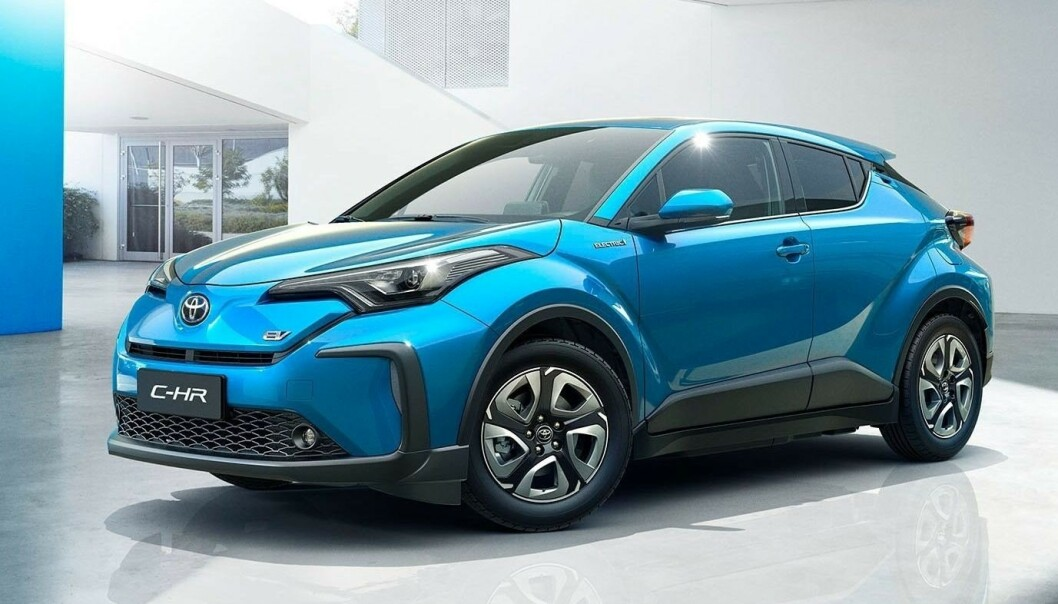 SETT DEN FØR: Ja, det er ikke utenkelig at du har sett den før, men ikke i fullelektrisk utgave. Foto: Toyota