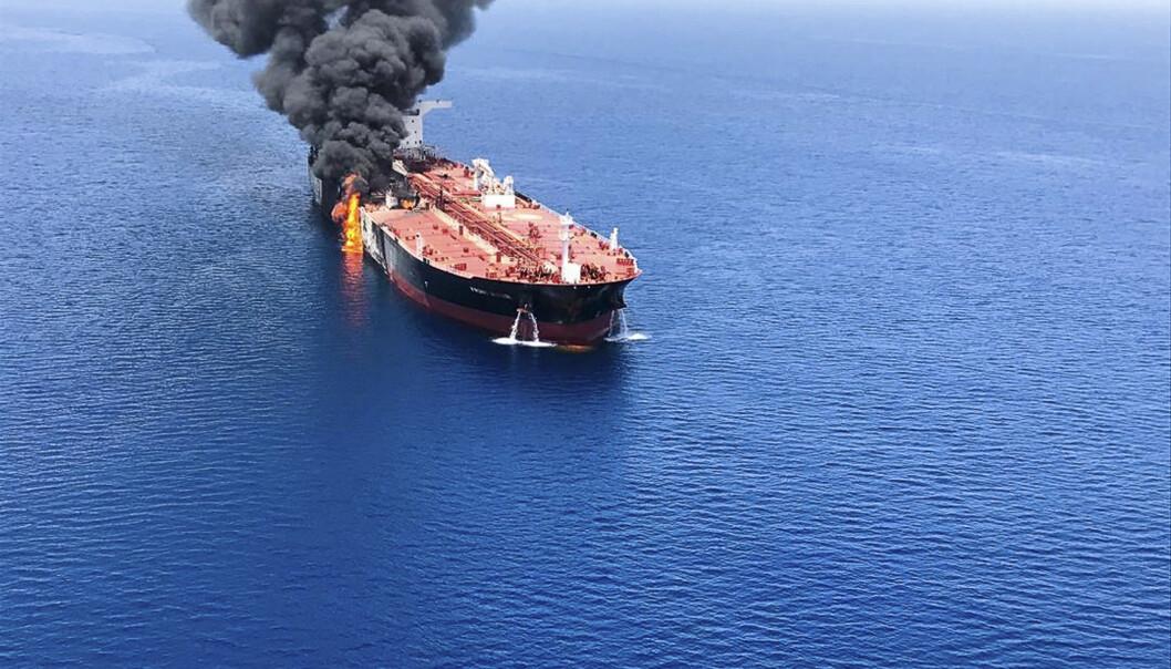 Spent situasjon i Omanbukta: – Et skritt nærmere krig