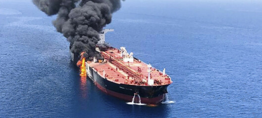 USA gir Iran skylda for angrepet på norsk skip