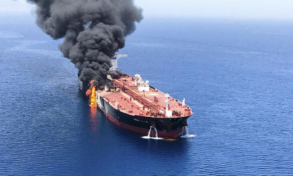 image: USA gir Iran skylda for angrepet på norsk skip